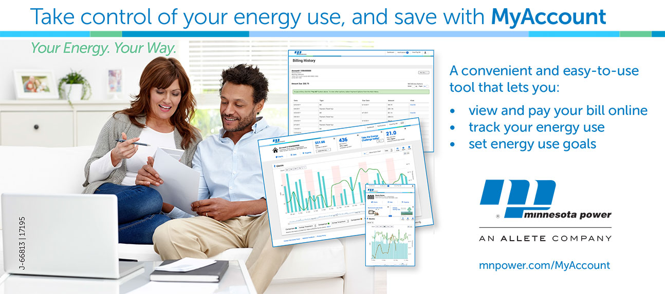 Take control of your energy use, and save with MyAccount.
